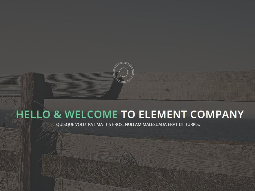 QK Element WordPress theme