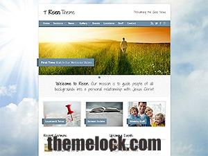 Risen (shared on themelock.com) best WordPress theme