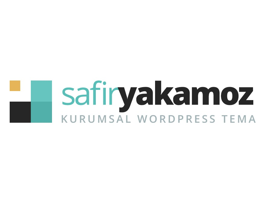Safir Yakamoz Wordpress Teması theme WordPress