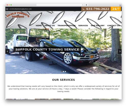 SKT Towing free WP theme - uncletuddystowing.com