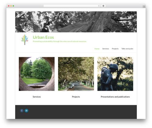 Free WordPress WordPress Picture / Portfolio / Media Gallery plugin - urban-ecos.com