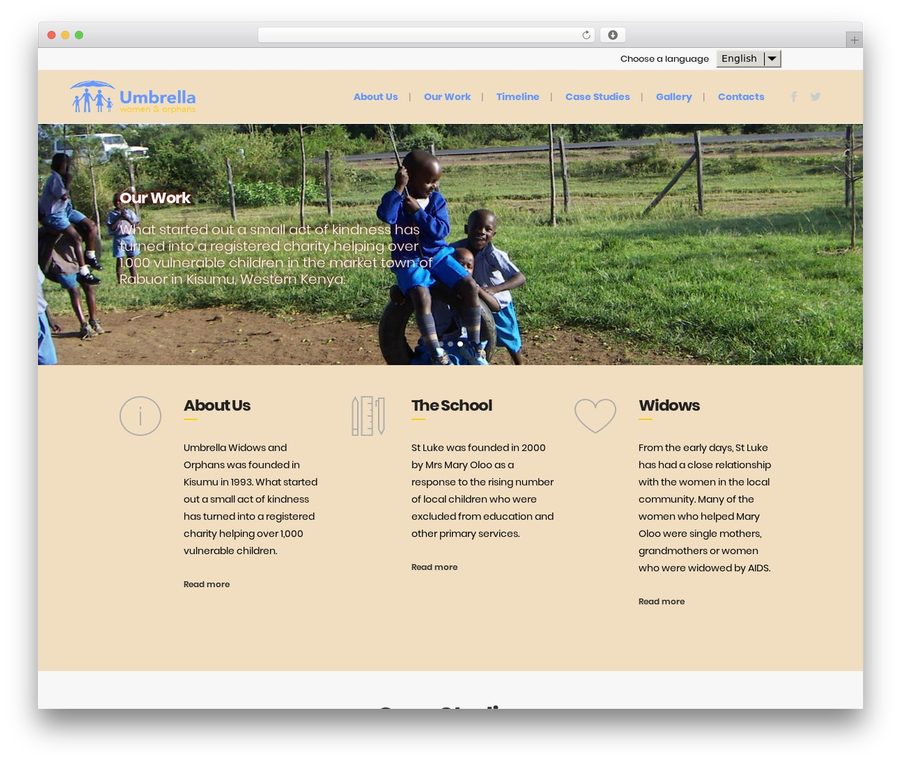 Template WordPress Bridge - umbrellakenya.org
