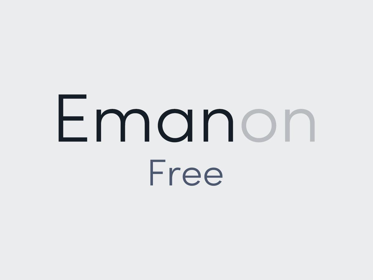 Template WordPress Emanon Free