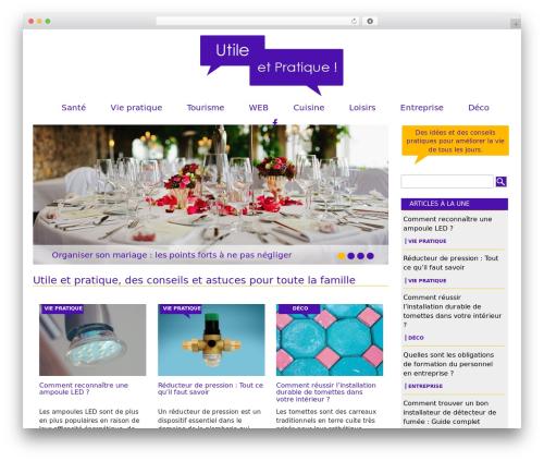 Theme BMS WordPress theme - utile-et-pratique.fr