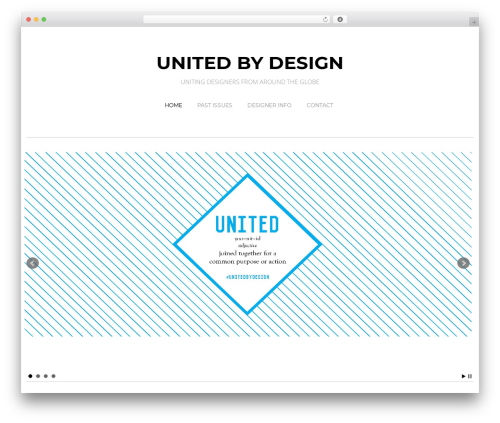 Free WordPress WP Header image slider and carousel plugin - unitedbydesign.net