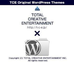 TYPE002 WordPress website template