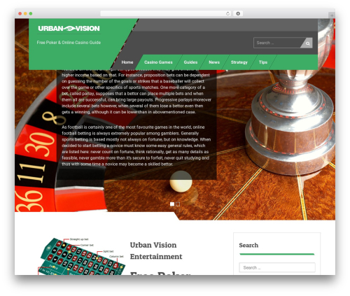 Uniq template WordPress - urban-vision.com