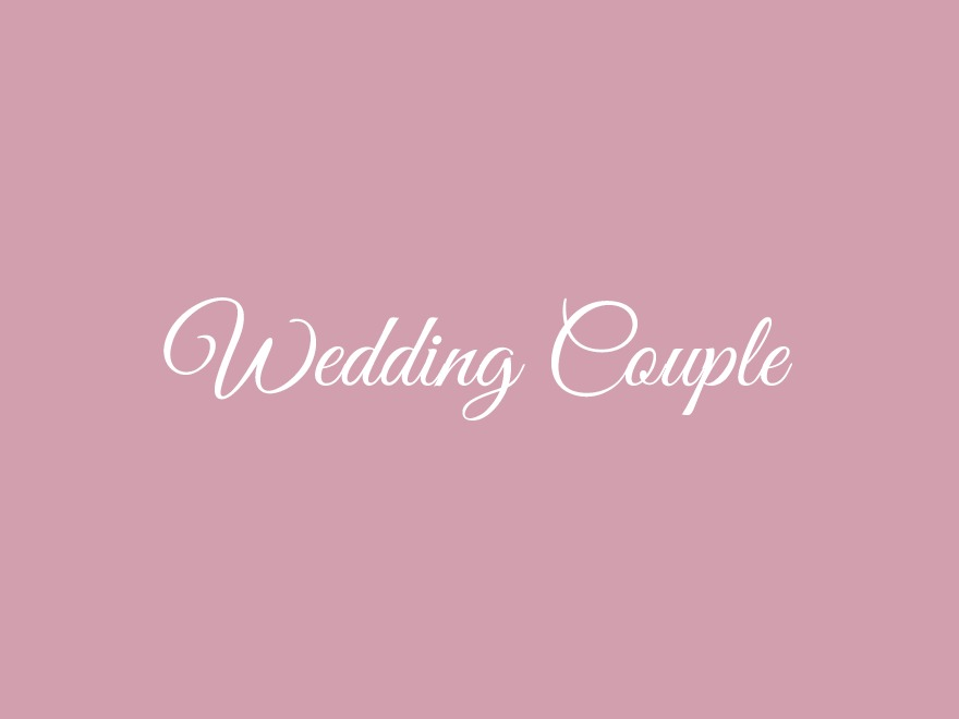 Wedding Couple WordPress wedding theme