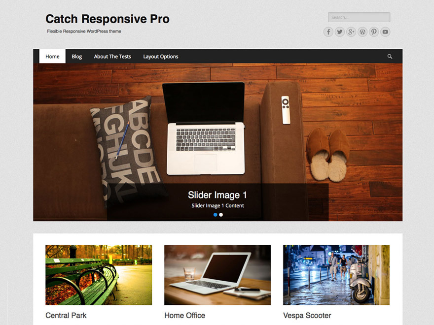 Catch Responsive Pro WordPress template by Catch Themes - poetry ...