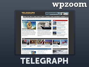 WordPress template Telegraph