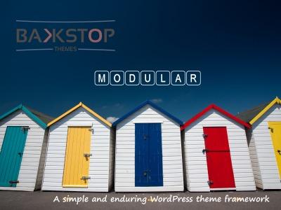 WordPress website template Modular