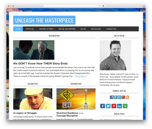 WP template Metro Pro Theme - unleashthemasterpiece.com