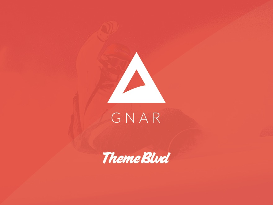WP theme Gnar
