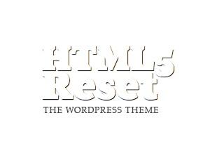 WP theme The HTML5 Reset Theme