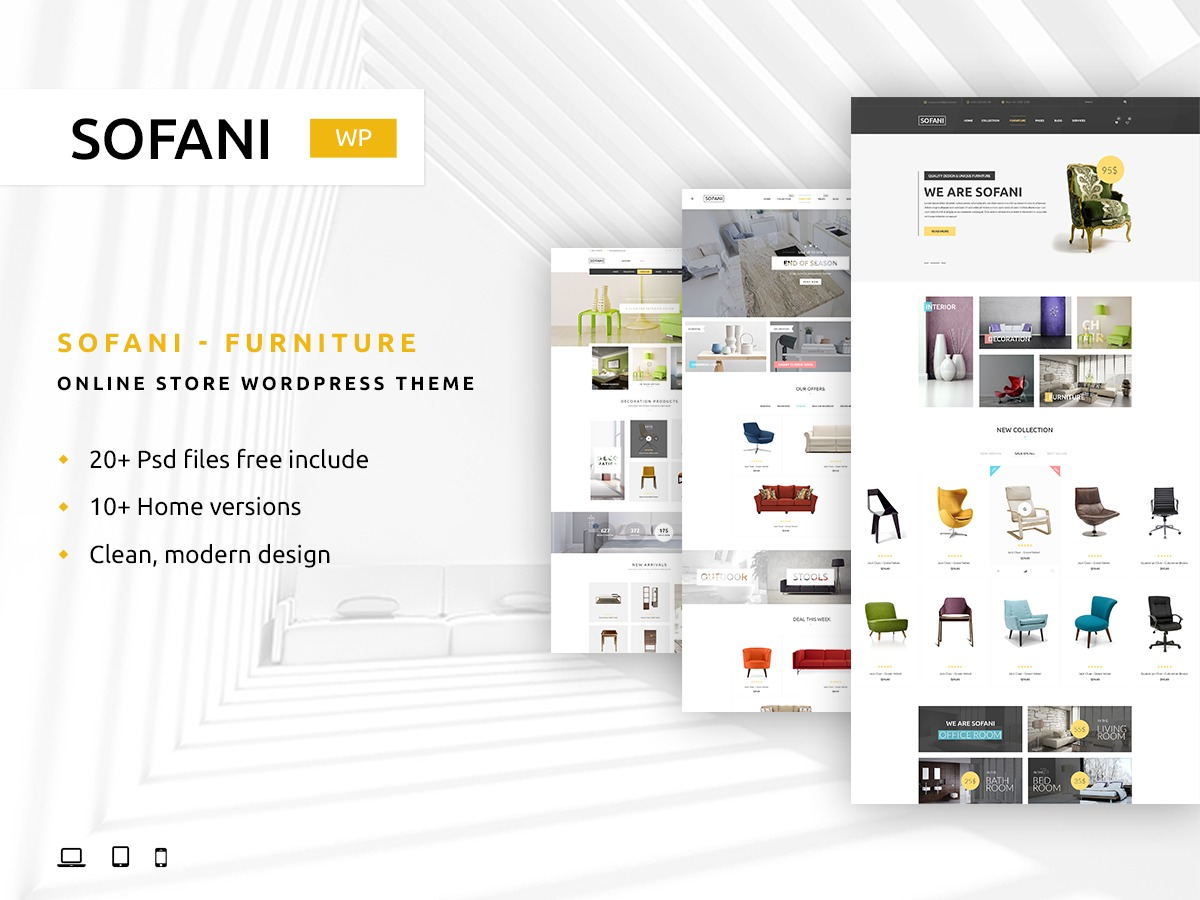 Yolo Sofani WordPress store theme