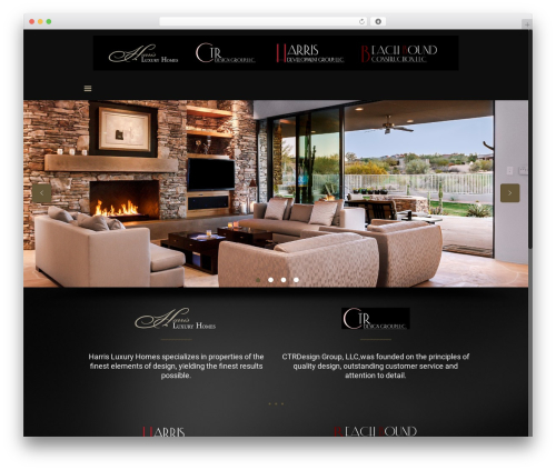 Best WordPress template Betheme - harrisluxuryhomes.com