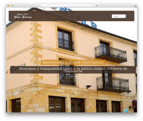 Best WordPress template Vierra - hostalgoyogarray.com