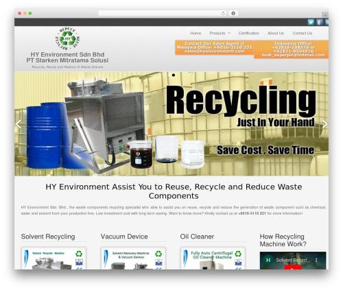 Gantry Theme for WordPress premium WordPress theme - hyenvironment.com