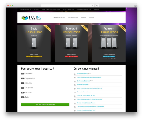 Hostme WP theme by system32 - page 2