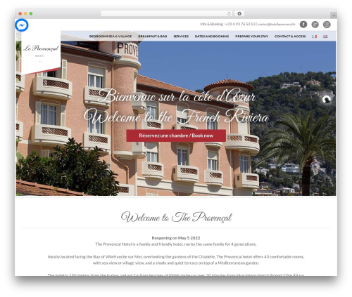 Free WordPress WP Cookie Banner plugin - hotelleprovencal.fr