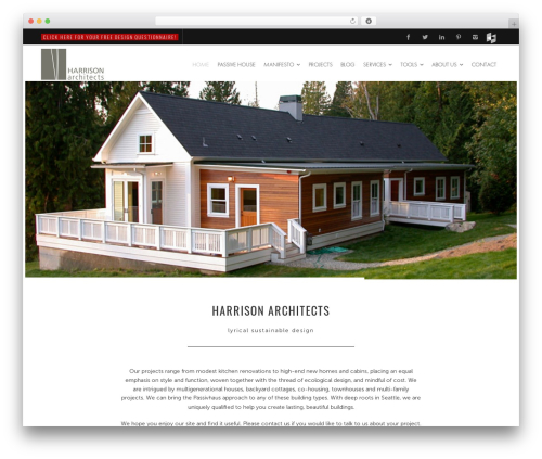 Free WordPress mb.YTPlayer for background videos plugin - harrisonarchitects.com