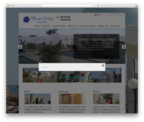 Free WordPress Polylang plugin - hostalholidaysmojacar.com/es