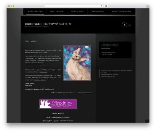 Theme WordPress Piano Black - hobbitqueens.fi