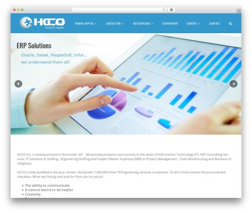 WordPress template Jobify - hccoinc.com