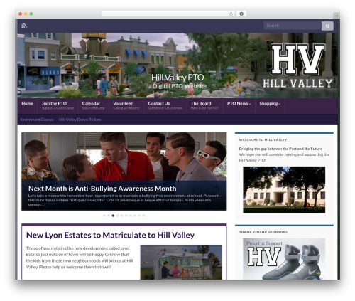 WP theme Graphene - hillvalleypto.com