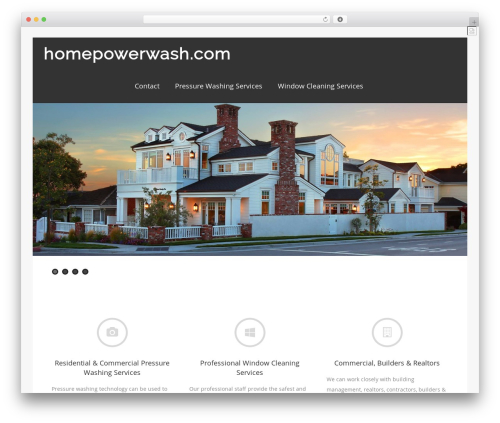 Asteria PRO premium WordPress theme - homepowerwash.com
