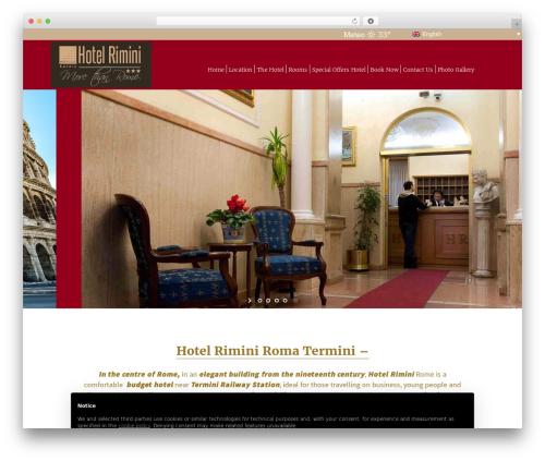 Free WordPress GDPR plugin - hotelrimini.com