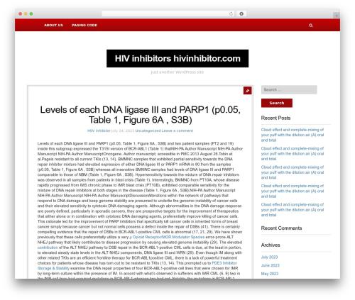 NewsBlog WordPress news template - hsvinhibitor.com