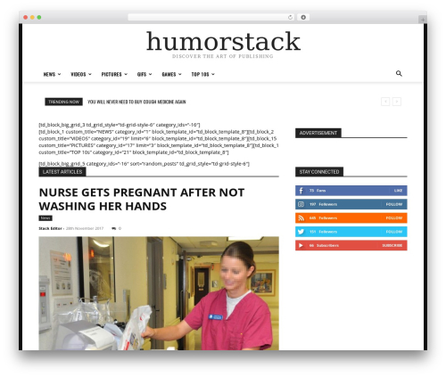 WordPress td-multi-purpose plugin - humorstack.com