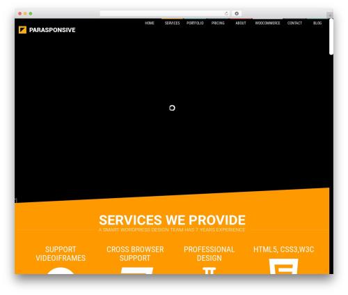 Parasponsive + WooCommerce 4.1 WordPress ecommerce theme - hi-like.com
