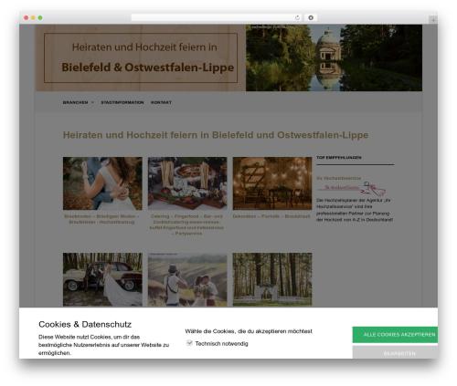 Theme WordPress The Retailer - hochzeit-feiern-bielefeld.de