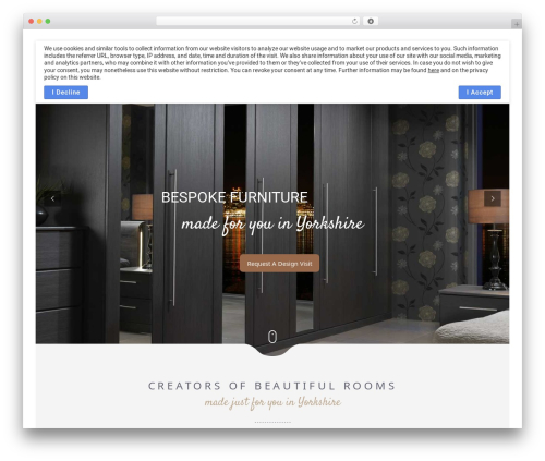 WordPress template Narcos - hartleysbedrooms.co.uk