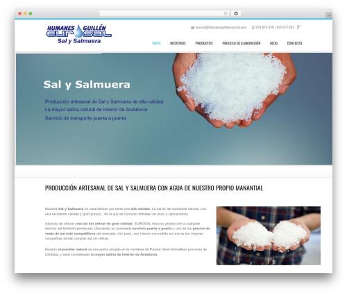 WordPress website template Kakia - humanesguilleneurosal.com
