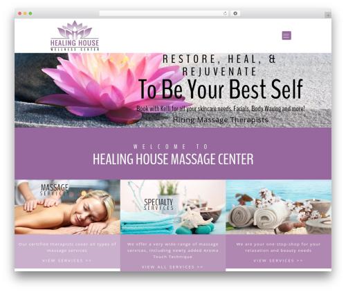 Betheme massage WordPress theme - healinghousemassage.com