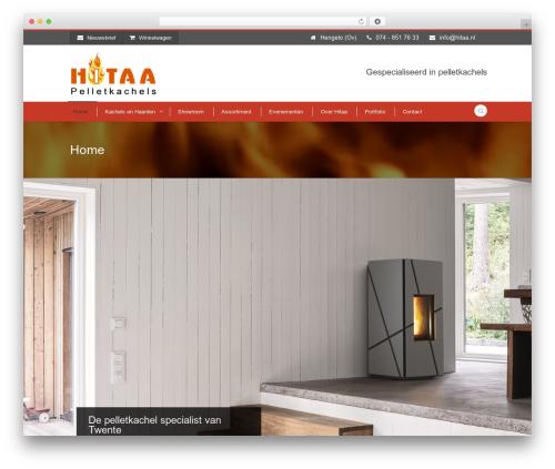 Flawless best WordPress theme - hitaa.nl