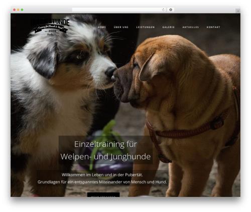 Namo theme WordPress - hundestunde-berlin.de