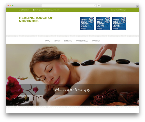 Onsen free WordPress theme - healingtouchofnorcross.com