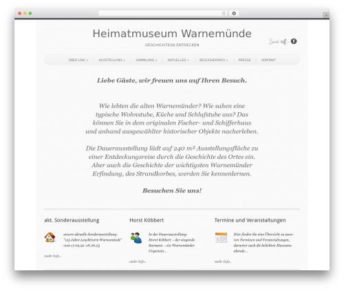 Free WordPress WF Cookie Consent plugin - heimatmuseum-warnemuende.de