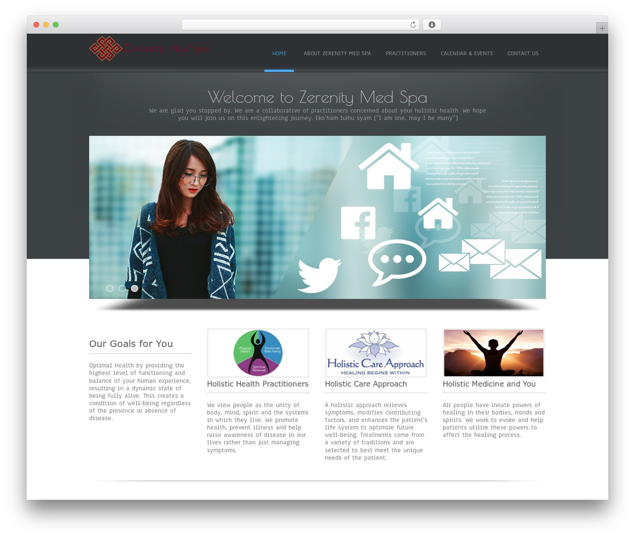 Simplify best free WordPress theme - healingartsofsouthflorida.com
