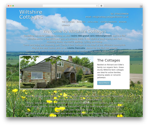 Free WordPress TablePress plugin - holidaycottagewiltshire.co.uk