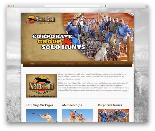 WP template Lamoon - huntsouthernidaho.com