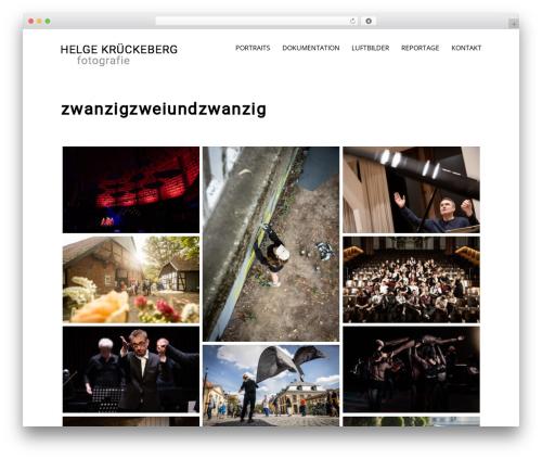 Zancudo top WordPress theme - helgekrueckeberg.de