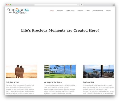 Aaika WordPress theme - hawaiimauicondo.com