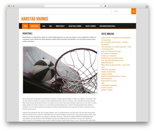 Best WordPress theme Koenda - harstadvikings.com