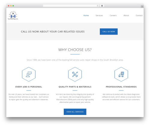 Carservice WordPress theme - hrexpertautorepair.com