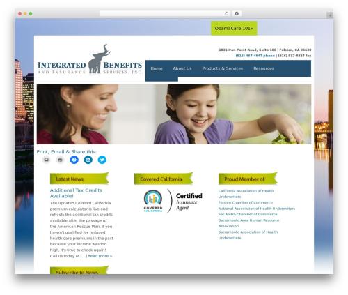 Catalyst WordPress theme design - healthinsuranceincalifornia.us
